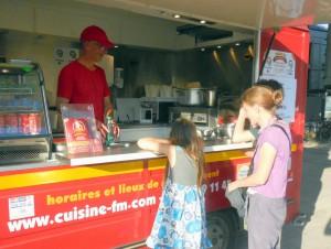 Cuisine FM, food truck sur Angers, Maine-et-Loire